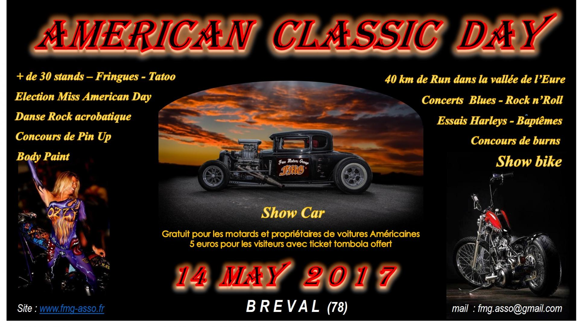 5ieme american classic day